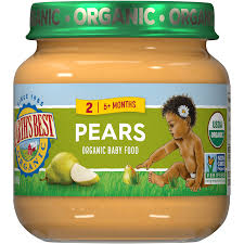 <b>Pears</b> Stage 2 Jarred <b>Baby Food</b> | Earth's Best <b>Organic</b>