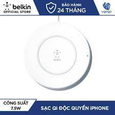 Sạc Không Dây Cho iPhone Xs Max/X/8Plus Belkin F7U027dq 7,5W - Blog Điện Máy