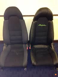toyota supra mkiv genuine leather seat