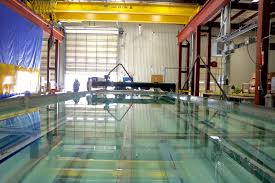 large water jet abrasive cutting machine