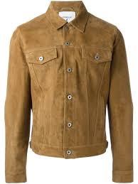 Designer Suede Jacket Dondup Suede Jacket Mens Designer Leather Jackets