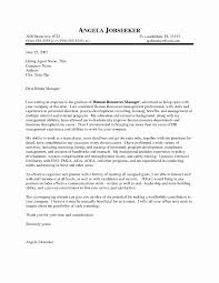 General Manager Resume Fresh Outstanding Cover Letter Examples