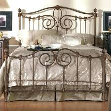 Wrought Iron Bed Frame King 4 Excellent White – globalopportunities