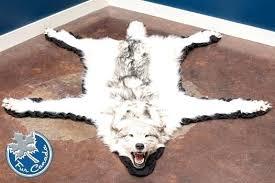 wolf skin rug wolf rug wolf skin rugs faux wolf skin rug