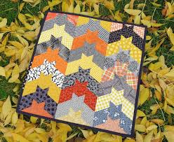 FREE Quilting Pattern Friday: Chevron Quilt Pattern & More & Modern Halloween Quilt Ideas to Dress Up Your Home Adamdwight.com
