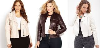 leather jackets plus size plus size cream ivory white faux leather jackets curvy fashion blog