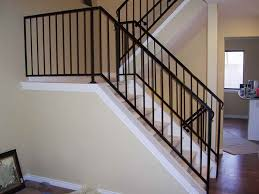 Metal handrails for stairs Handrail Indoor Image Of Iron Stair Railing Ideas Home Decoration Wrought Iron Stair Railing Home Decoration Simple Iron Stair