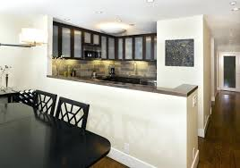 half wall kitchen kitchen wall units with glass doors image concept