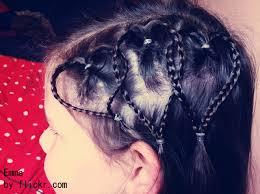 Dětské účesy Doma Novoroční Styl Pro Dívky účesy Pro Dlouhé Vlasy