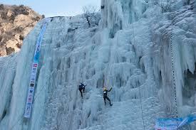 escalada en gel una competició trepidant fosbury