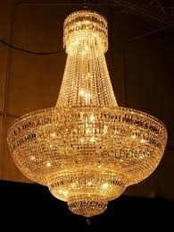procedure to hang and install crystal chandeliers