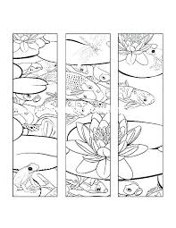 Bookmark Coloring Pages Free Printable Christmas Bookmarks To Color Ivychendesign Co