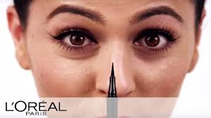 precise winged eye makeup tutorial infallible l oreal