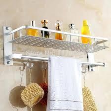 shower shelves bathroom wall mounted space aluminum tier shower towel shelf with shower shelves ceramic tile