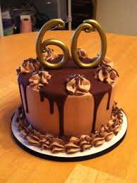 Chocolate Lovers 60th Birthday Cake Cakecentralcom