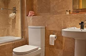 travertine tile bathroom. A Recent Bathroom With Travertine Tiles Tile
