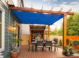 Waterproof Patio Cover Modern Patio Amp Outdoor Sunbrella Pergola