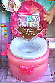 doll size find a toilet for a doll bathroom to be