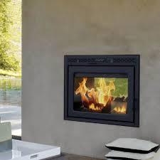supreme duet see through wood burning fireplace