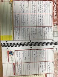 Student Planner Ms Shenes Blog