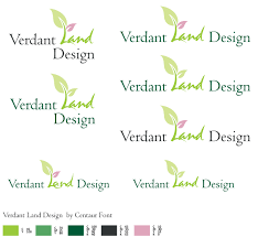 K And C Land Design Architect Logo Design For Verdant Land Design By Albert Lai