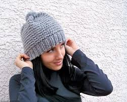 Bulky Yarn Knit Hat Pattern