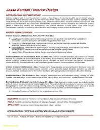 Interior Design Resume Templates Impressive Residential Interior Design Resume Elegant Interior Design Resume