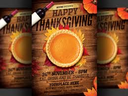 thanksgiving party flyer thanksgiving party flyer template by christos andronicou dribbble