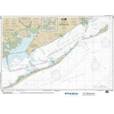 Maptech Noaa Recreational Waterproof Chart Intracoastal Waterway Carrabelle To Apalachicola Bay Carrabelle River 11404