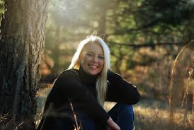 free images landscape tree nature forest woman hair sunlight fall cute female sitting autumn lady smiling smile sweater makeup