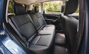 2016 subaru forester 2 0xt touring interior seats rear