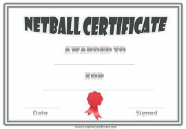 Volleyball Award Certificate Mvp Template Softball