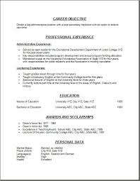 10 College Professor Resume Free Ride Cycles
