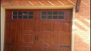 wonderfull design painting garage door to look like wood steel garage doors that mimic look of