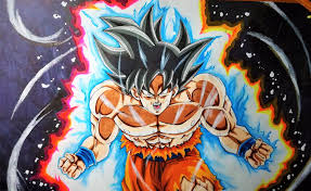 Goku Limit Breaker Light Poster Oc Fan Art Been A While Since Ive Been Able To Draw