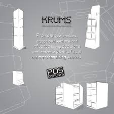 Point Of Sale Material Design Point Of Sale Displays Corrugated Cardboard Stands Krums