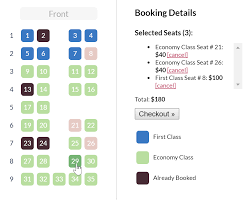 Javascript Seating Chart Library Software Recommendations