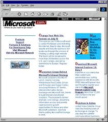 Micro Soft Home Page Web Retro The First Stumbling Steps Of Microsoft Com Back In 1994