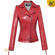 red leather moto jacket cw650032 cwmalls com