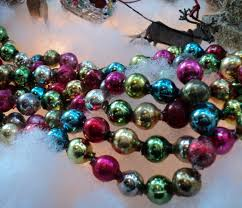 Vintage glass bead garland