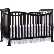 Dream On Me Violet 7-in-1 Convertible Crib Black - Walmart.com
