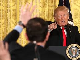 Image result for trump bars press