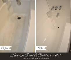 bathroom makeover day 11 how to paint a bathtub