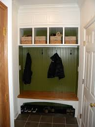 coat rack bench entry contemporary with clothes storage