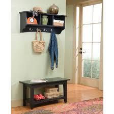 Storage Bench And Coat Rack Set