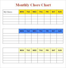 Chore Chart Templates Free Printable Sample Star Chart Template Free Printable Chore Charts For