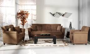 Microfiber Living Room Furniture Aspen Rainbow Storage Sleeper Sofa In Rainbow Microfiber By Sunset
