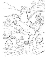 Small Picture Farm Life Coloring pages are a fun and educational activity that