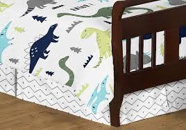mod dinosaur blue and green toddler