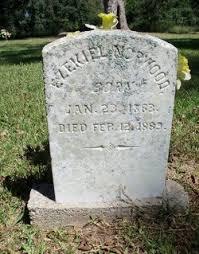 Ezekiel Norwood (1863-1889) - Find A Grave Memorial